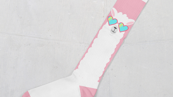 No Probllama Socks