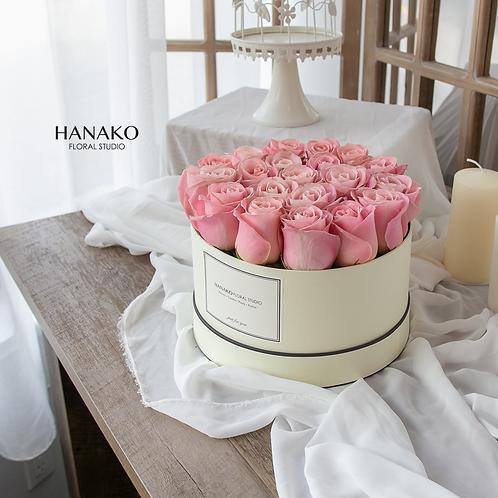 Pink Rose Gift Box