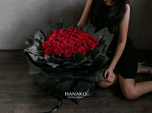 49 Red Roses Bouquet(Pre-order Item)