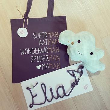 Cadeaux de naissance maman-bébé _3 #mlle