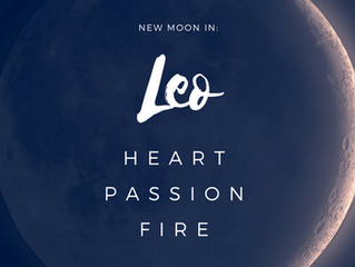BE HEALTHY SELFISH with this New Moon in Leo Solar Eclipse
