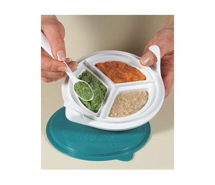 KidCo Baby Steps Feeding Dish 餵食用碟,一碟兩格