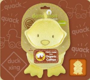DANDELION Organic Duck Squeaker