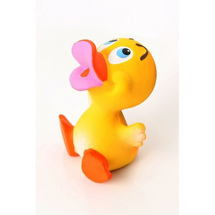 KIMBEE 100% Natural Rubber Toy - Denzel Duck