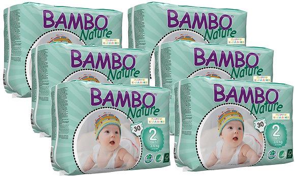 Bambo Nature Nappies: Mini Size 2 (1 Carton)