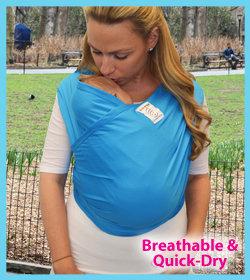 BABY K'TAN Active Carrier  嬰兒軟棉布揹帶激活系列-透氣、吸汗、快乾、防U