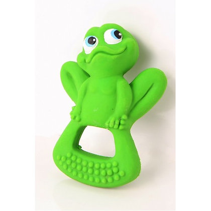 KIMBEE 100% Natural Rubber Teether - BO Frog