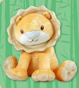 DANDELION Bamboo Lion Plush