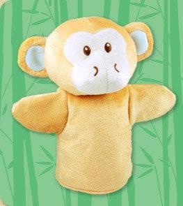 DANDELION Bamboo Monkey Puppet