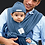Thumbnail: BABY K'TAN Cotton Carrier 嬰兒軟棉布揹帶(天然柔軟精