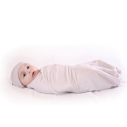 WOOLINO Newborn Swaddle/Blanket and Hat 新生兒包被和帽子