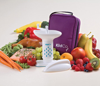 KidCo Baby Steps Deluxe Food Mill with Travel Tote