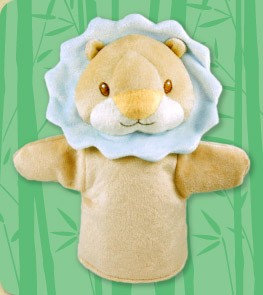 DANDELION Bamboo Lion Puppet