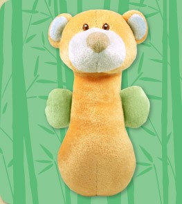 DANDELION Bamboo Bear Soft Shaker
