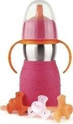 KID BASIX The Safe Sippy 2 不鏽鋼安全吸啜瓶第二代(二合一吸啜杯)