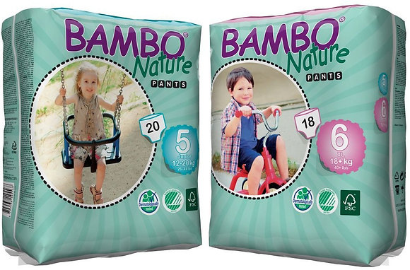 Bambo Nature Premium Eco Disposable Training Pants