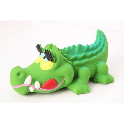 KIMBEE 100% Natural Rubber Toy - Paddy Crocodile