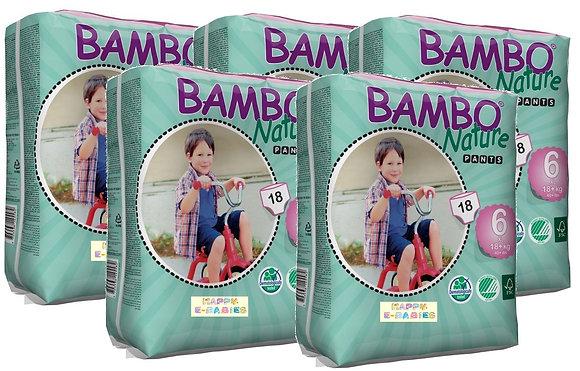 Bambo Nature Training Pants: XL-Plus Size 6 (1 Car