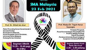 SMA Malaysia Akan Bersiaran Di Negeri Adat Pepatih dan Negeri Jelapang Padi