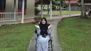 Kerusi Roda Yang Membawa Tuah 😉 / The Fortune Wheelchair ♿