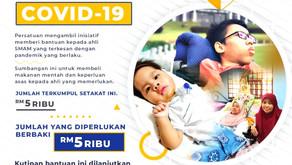 Melanjutkan Tempoh Kempen Bantuan Covid SMAM (Extending the Duration of SMAM's Covid Aid Campaign)