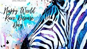 Selamat Hari Penyakit Jarang Jumpa Sedunia 2021 (Happy World Rare Diseases Day 2021)