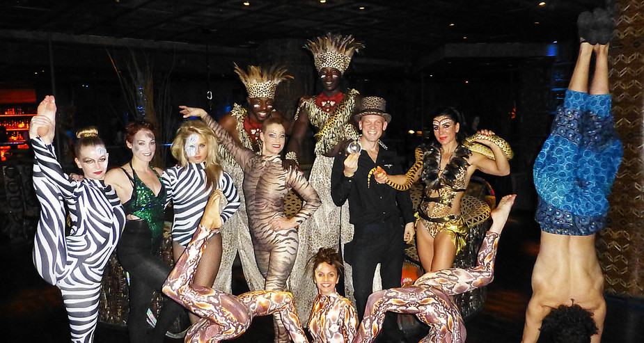 AFRICAN JUNGLE TRIBE CIRCUS COSTUMES