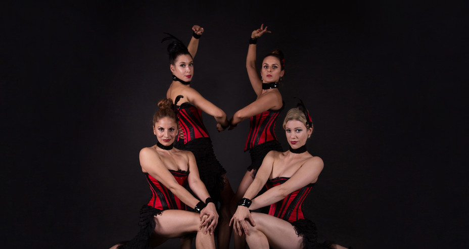 LATIN THEMED COSTUMED DANCERS