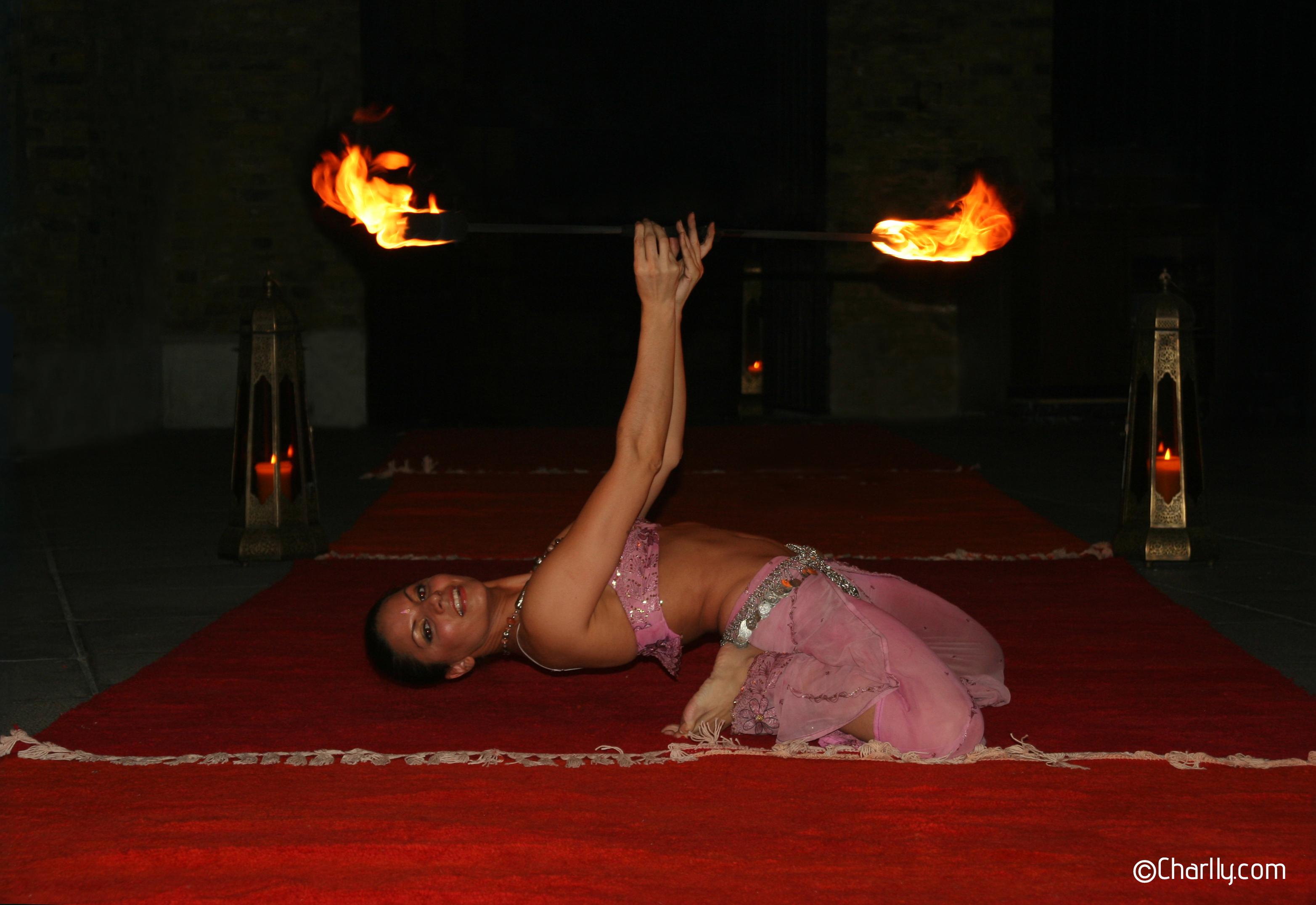 ©Charlly fire staff dance