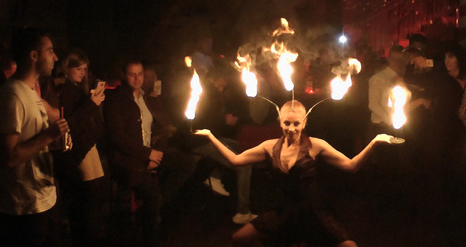 FIRE CROWN & PALM DANCE ACT