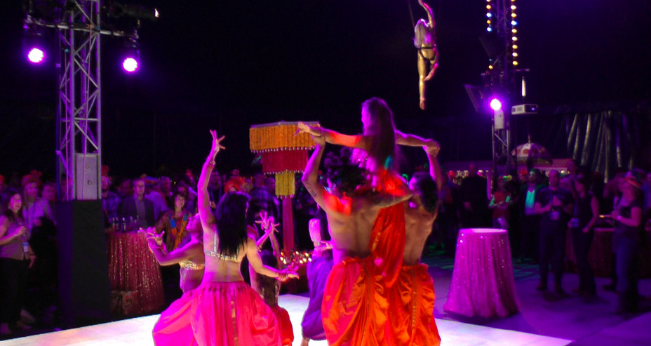 MYSTIC INDIA DANCE SHOW FOR CORPORATE EVENT