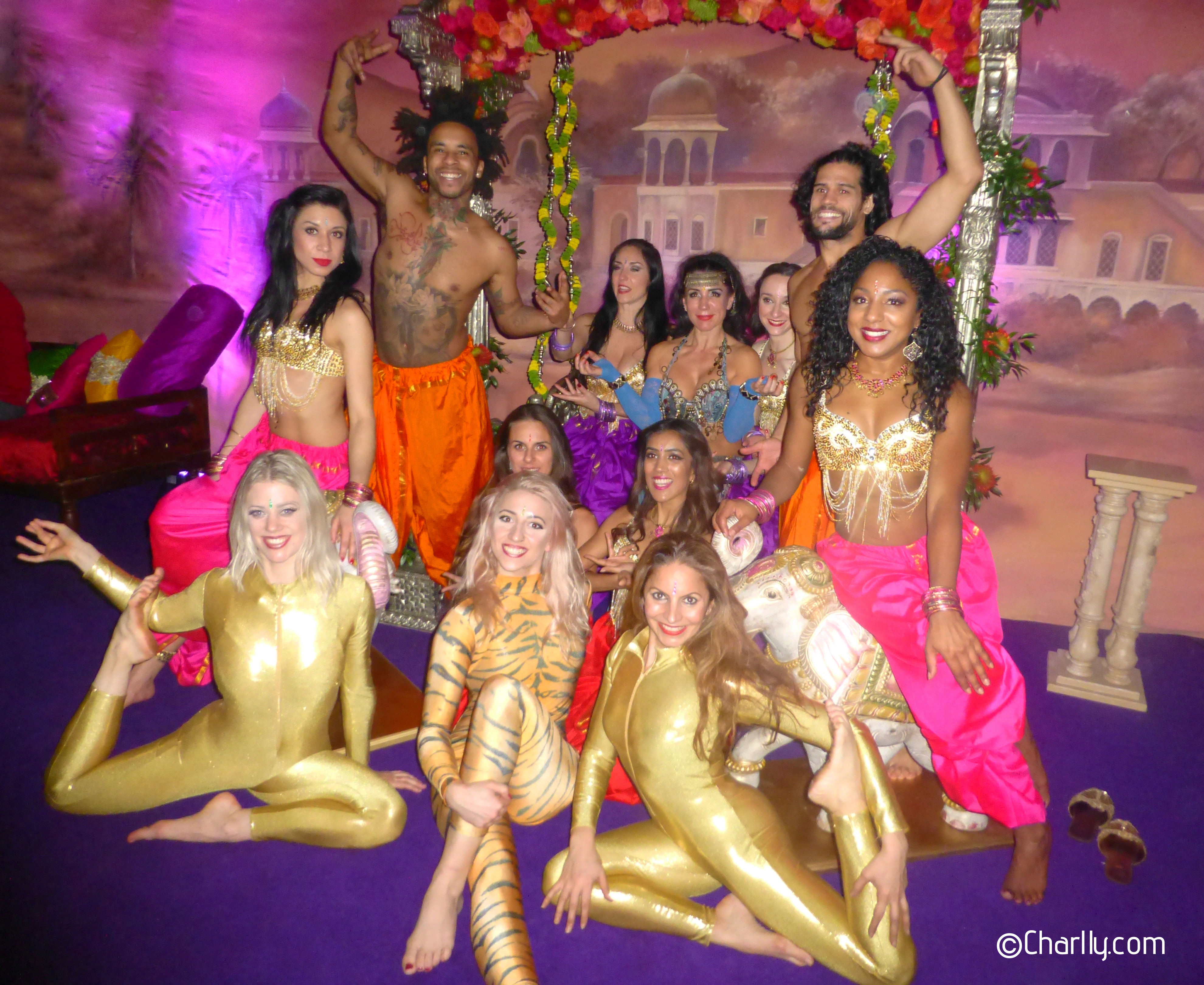 ©Charlly©Flowfuzion Bollywood circus