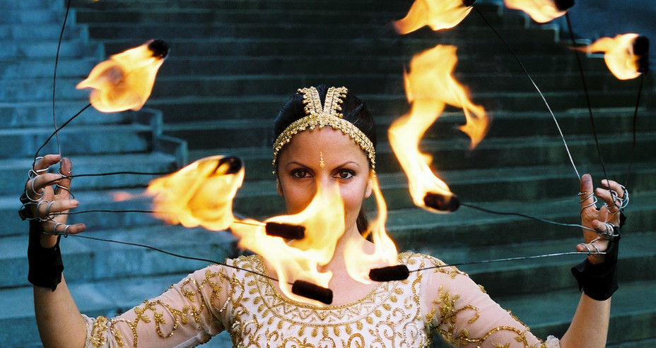 FIRE FINGERS INDIAN 'BOLLYWOOD' THEMED