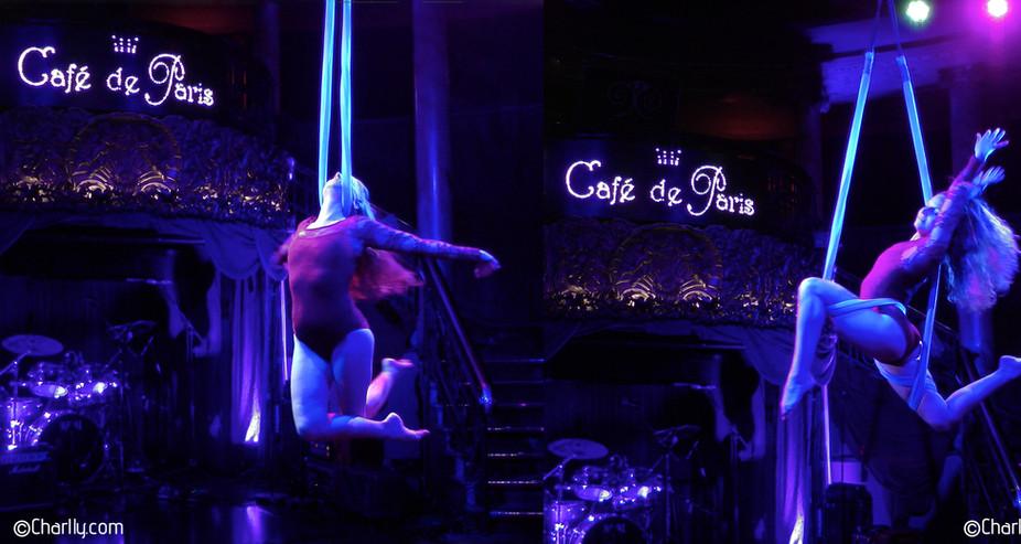 AERIAL SLING CAFE DE PARIS