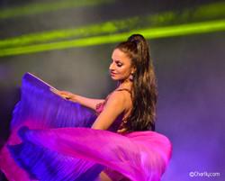 ©Charlly Fan veils dance