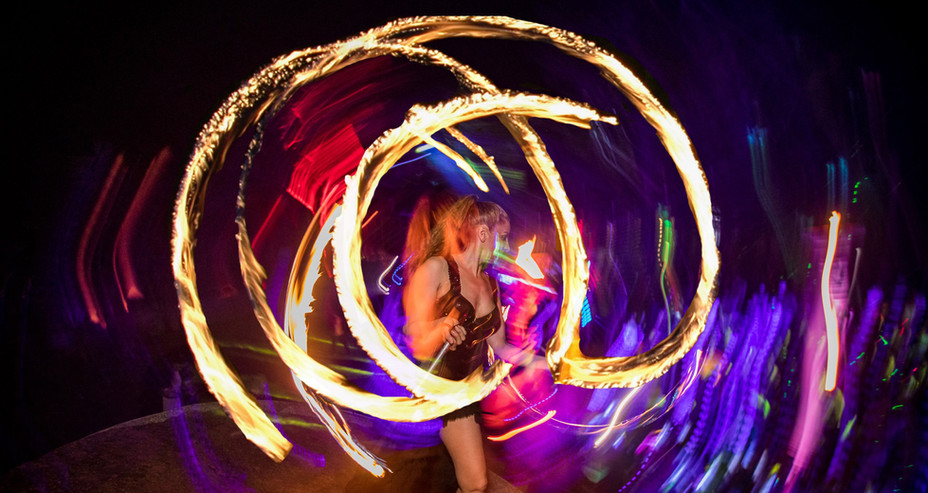 FIRE CLUBS SPINNING IN GOA