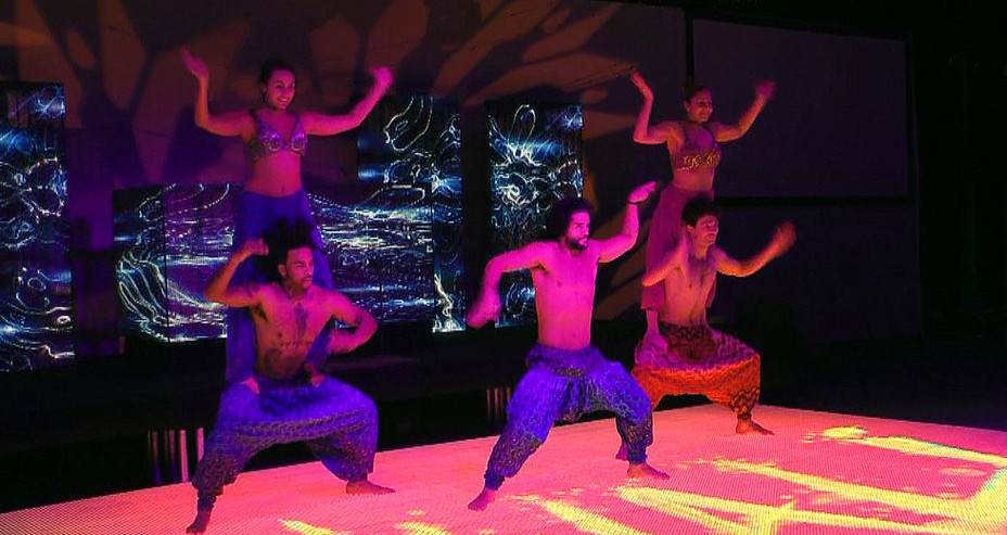 ACRO DANCE SHOW FOR DIWALI THEMED CORPORATE EVENT