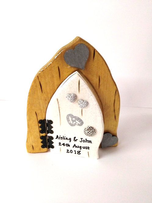 Personalised Wedding Fairy Door