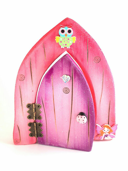 The Classic Collection: Pink & Purple  Opening Fairy Door