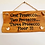 Thumbnail: Wood Wall Plaques: Various Wording