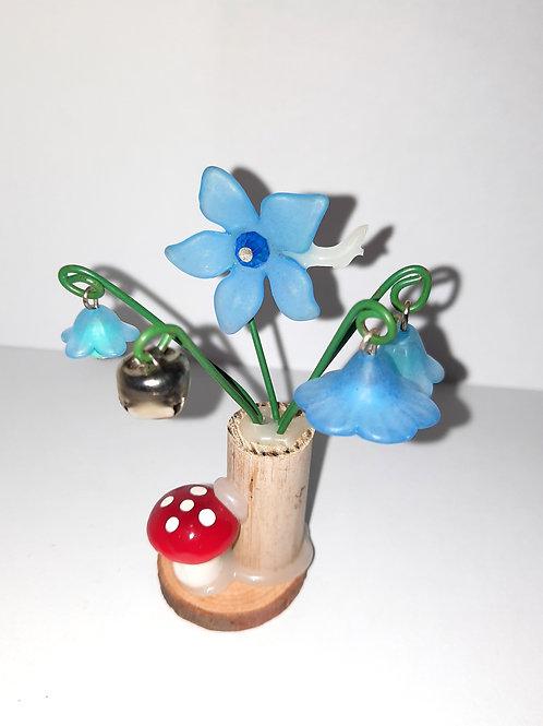 Fairy Flowers: Blue