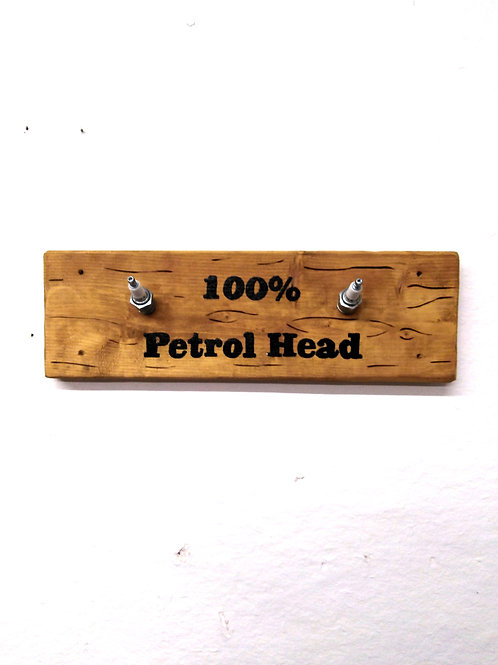 Spark Plug 100% Petrol Head Coat Hooks