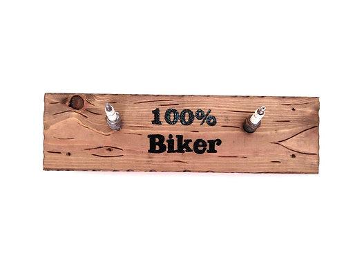 Spark Plug Biker Coat Hooks