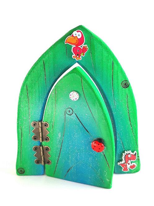 Sea Green Fairy Door