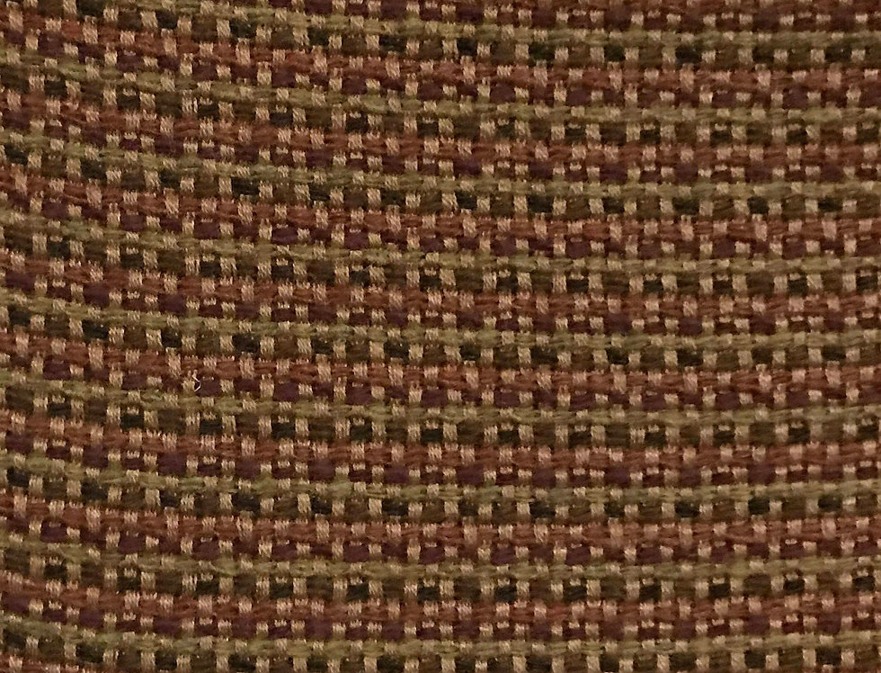 Woven - Olive Green, Dark Brown