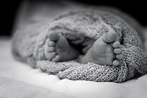Canva - Greyscale Photo Of Human Feet Co