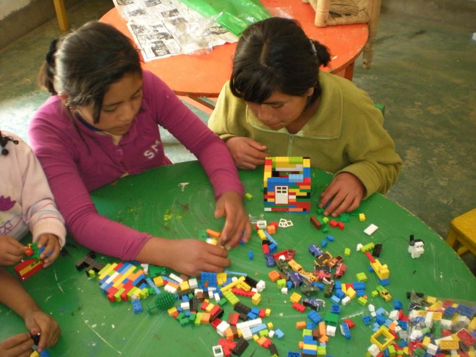 Solutions.....  Legos!