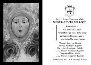 Mañana Sábado - Misa de Requiem