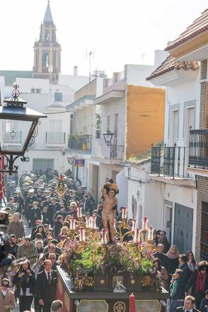 Nuestra Hermandad acompaña a San Sebastián.