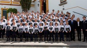 La Escolanía de Los Palacios presente en el Himno de la Coronación.